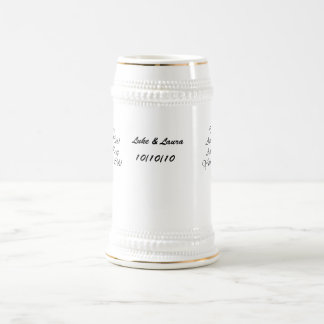 To Have & To Hold & To Keep Your Drink Cold Text Mug