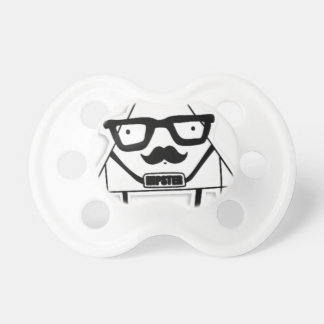 to hipster pacifier