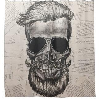 to hipster skull