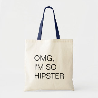 to hipster tote bag