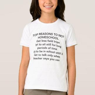 To Homeschool or Not To Homeschool T-Shirt