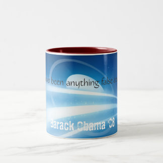 To Hope! Two-Tone Coffee Mug