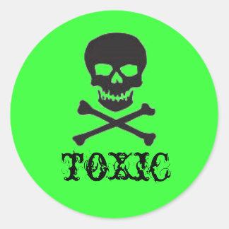 To)(ic Classic Round Sticker