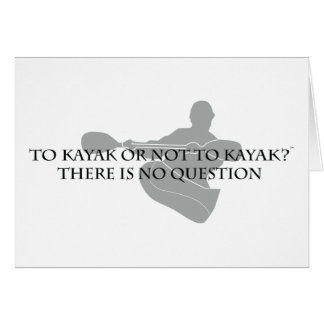 To Kayak or not to Kayak Card