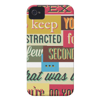 to keep you distracted great design iPhone 4 case