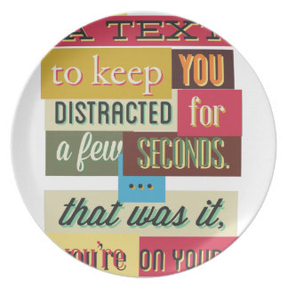 to keep you distracted great design plate