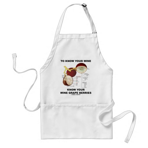 To Know Your Wine Know Your Wine Grape Berries Apron