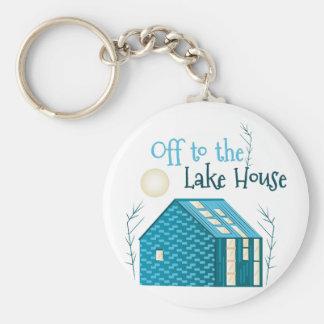 To Lake House Keychain