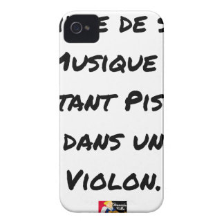 TO LIVE OF SA MUSIC? AS MUCH TO PISS IN A VIOLIN iPhone 4 CASE