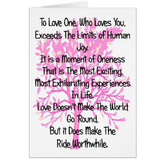To Love One Who Loves You Greeting Card