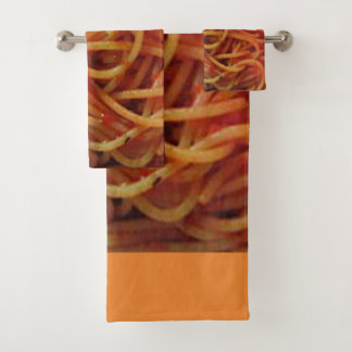 To Love Spaghetti Bath Towel Set