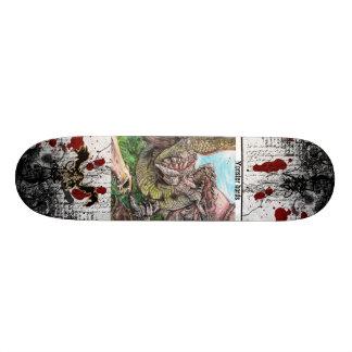 to monster bords batlle custom skate board