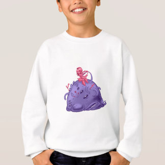 to monster sweatshirt