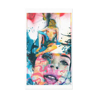 To Much To Dream Contemporary Canvas Print