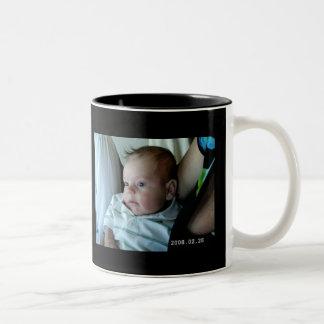 To Mummy Happy Mothers Day Two-Tone Coffee Mug