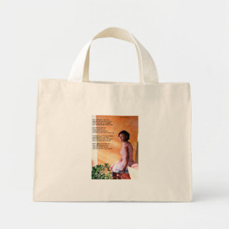 To My Daughter Mini Tote Bag