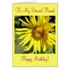 To My Dearest Friend, Happy Birthday! Card