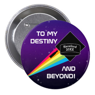 To My Destiny Personalized Graduation Pin
