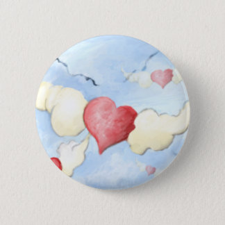 **to my friends with love** 2 inch round button