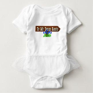 To my Texas Roots Baby Bodysuit