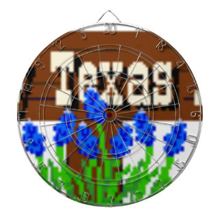 To my Texas Roots Dartboard