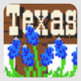 To my Texas Roots Square Sticker