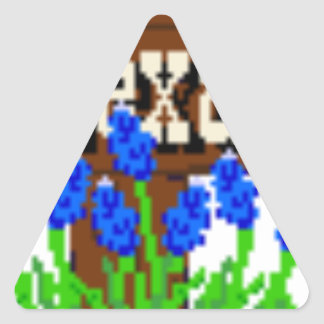 To my Texas Roots Triangle Sticker