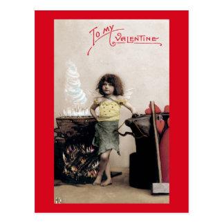 To My Valentine Postard Postcard