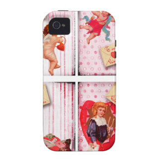 To My Valentine Vintage Valentine s Day Cupid iPhone 4/4S Cover