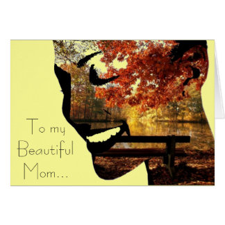 To myBeautifulMom Greeting Card