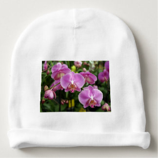 to orchid_fresh_flower baby beanie