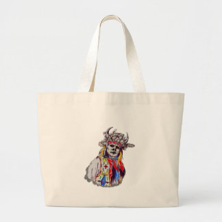 TO PAY HOMAGE LARGE TOTE BAG