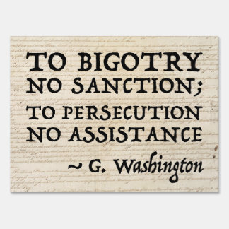 To Persecution No Assistance 24x18
