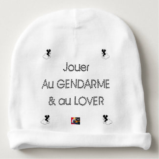 To play the GENDARME and COILING - Word games Baby Beanie