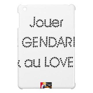 To play the GENDARME and COILING - Word games Case For The iPad Mini