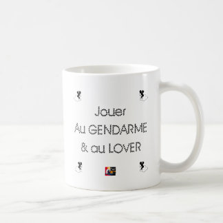 To play the GENDARME and COILING - Word games Coffee Mug