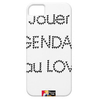 To play the GENDARME and COILING - Word games iPhone 5 Cover