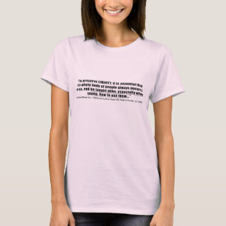 To preserve Liberty Quote by Richard Henry Lee T-Shirt