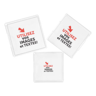 To print your designs in French line Acrylic Tray
