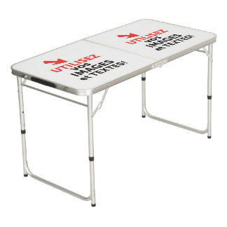To print your designs in French line Beer Pong Table