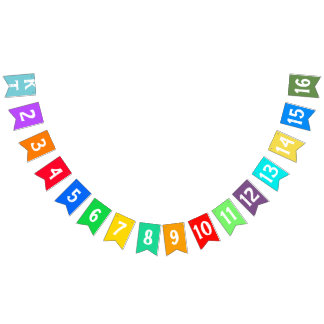 To print your designs in French line Bunting Flags