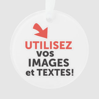 To print your designs in French line Ornament