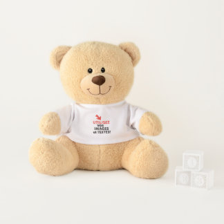 To print your designs in French line Teddy Bear