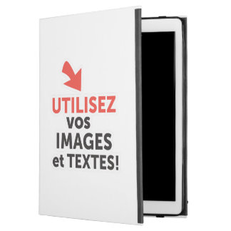 """To print your designs in line DIY in French iPad Pro 12.9"""" Case"""