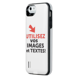 To print your designs in line DIY in French iPhone SE/5/5s Battery Case