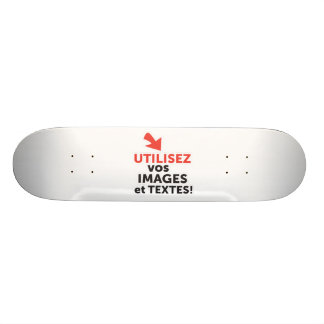 To print your designs in line DIY in French Skateboard Decks