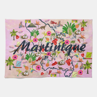 To remember Martinique Hand Towels