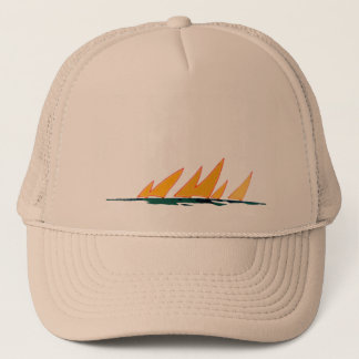 to sail trucker hat