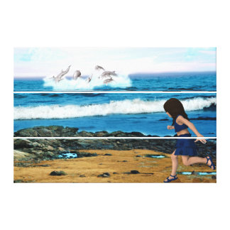 To See the Dolphins Canvas Print