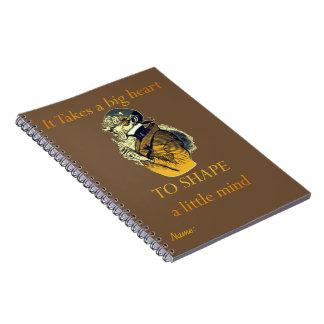 TO SHAPE a Little Mind Spiral Notebook